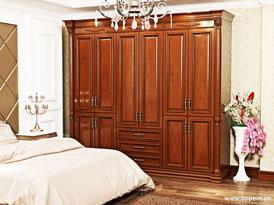欧派定制系列-古典主义系列衣柜效果图