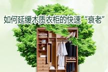 """如何延缓木质衣柜的快速""""衰老"""""""