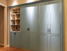 艾瑞卡定制系列-吸塑工艺平开门衣柜系列