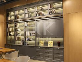 kddk定制系列-书房效果图