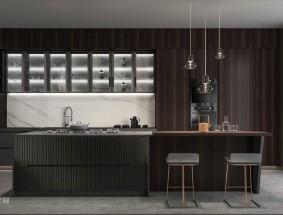 奢匠定制系列-格拉苏蒂-厨房效果图
