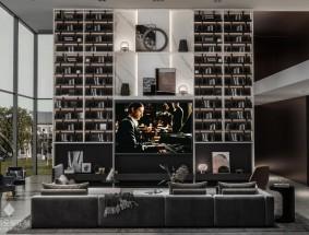 奢匠定制系列-格拉苏蒂-客厅效果图