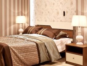 艾瑞卡定制系列-定制板木卧室床效果图