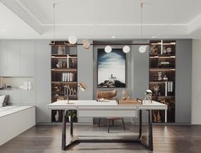 沃的全铝定制系列—现代轻奢风格效果图