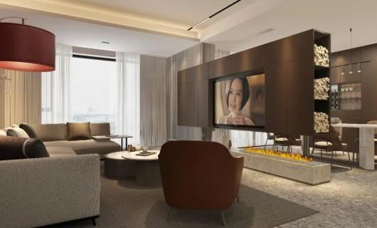 丽博橱柜丨全屋定制:这样的客厅  为你解锁各种看  欧洲杯  的姿势