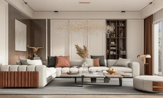 佰怡家设计小讲堂:莫兰迪橙  丰富视觉层次感