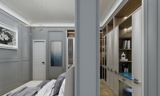 居里亚全屋定制:莫兰迪色系应用到家居实例中  原来这么美