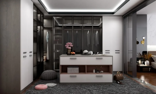 欧琳定制家居:高颜值设计 让你的衣帽间更加体面