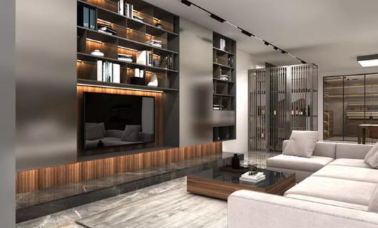 沃的全铝定制:家居装修 论高级感我选这一种