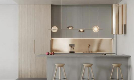KDDK全屋定制:今年流行的橱柜设计 让你家高级感满满