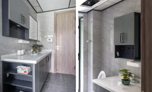 客来福全屋定制:285平米现代简约 将休闲气息带进家中 享受窗外的绿意和宁静