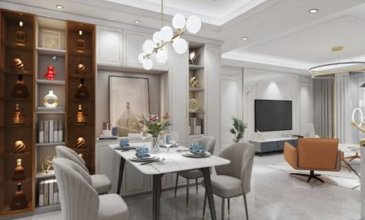 皇朝定制:客餐厅设计试试这5款 哪怕是别墅都有合适的