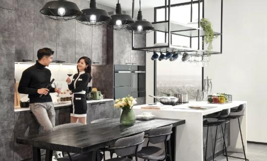 柏厨家居:3大功能化设计 改变你的厨房生活