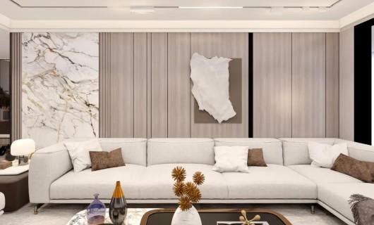史丹利STANLEY家居全屋定制:客厅这样装   颜值太逆天