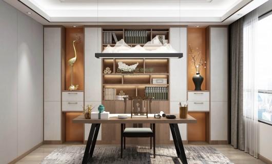 佰怡家设计小讲堂:书房装修不可忽略的3点