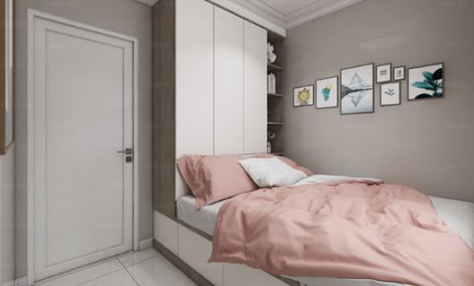 美佳:卧室空间小怎么定制衣柜能充分利用空间
