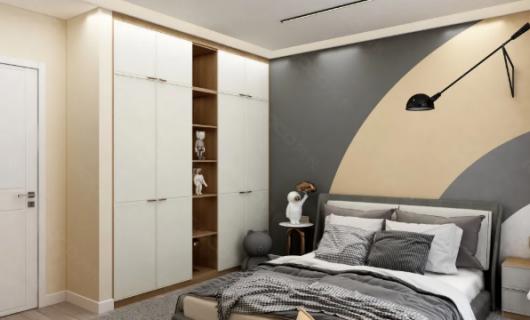 劳卡全屋定制:二胎夫妻的114m²四口之家  拥有超强收纳的衣帽柜  绝了