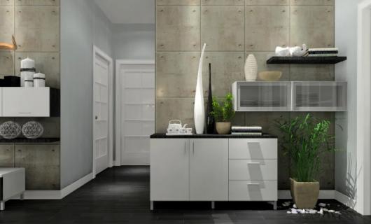 客来福家居:入户空间太过于狭窄没地放鞋柜 设计师给出了三套解决方案 每种户型都有参考价值