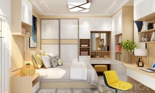 诺维家全屋定制:美到词穷的卧室设计  太好看了