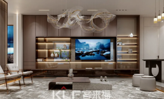 智能终端 高定配套 客来福第十二代展厅全新智能板块震撼来袭