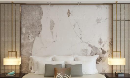 世纪豪门:超薄人造石数码岩板/墙板——圣托尼里 回归质朴 自然随性 畅享温暖时光